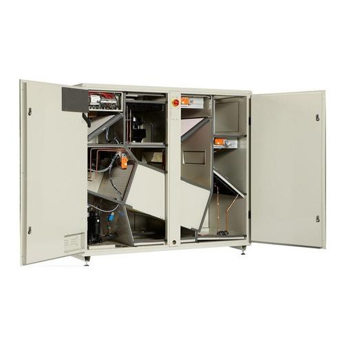<i>Centrale de traitement d?air DANX marque GECKO avec déshumidification par compresseur et batterie d?échange thermique</i>