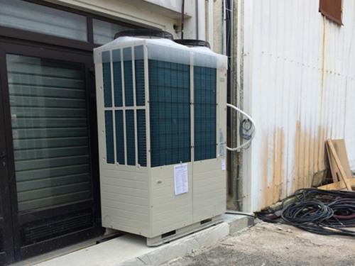 Chantier climatisation magasin Mexx en cours ! La Seyne